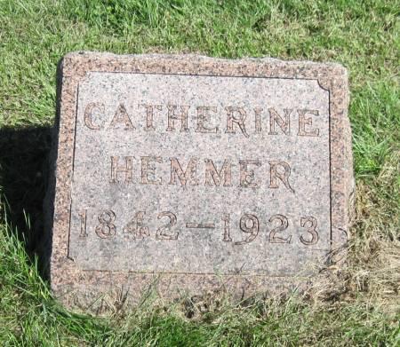 HEMMER, CATHERINE - Black Hawk County, Iowa | CATHERINE HEMMER