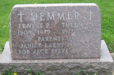 HEMMER, ERNEST P. - Black Hawk County, Iowa | ERNEST P. HEMMER
