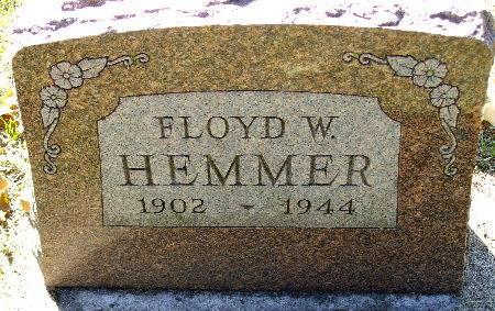 HEMMER, FLOYD W. - Black Hawk County, Iowa | FLOYD W. HEMMER