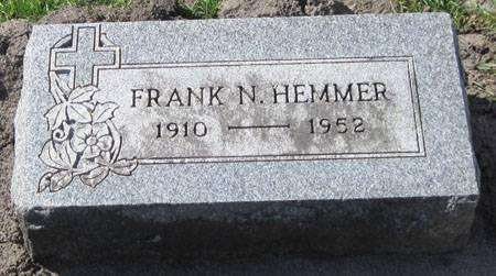 HEMMER, FRANK N. - Black Hawk County, Iowa | FRANK N. HEMMER