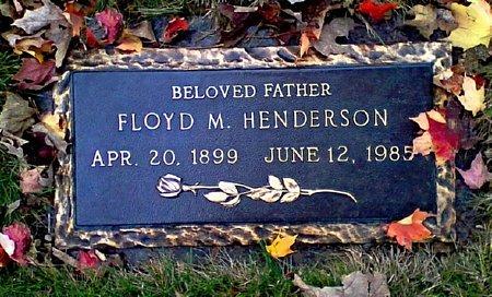 HENDERSON, FLOYD M. - Black Hawk County, Iowa | FLOYD M. HENDERSON