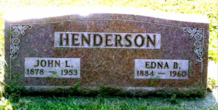 HENDERSON, EDNA BELLE - Black Hawk County, Iowa | EDNA BELLE HENDERSON