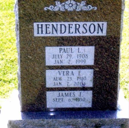 HENDERSON, PAUL LEVI - Black Hawk County, Iowa | PAUL LEVI HENDERSON