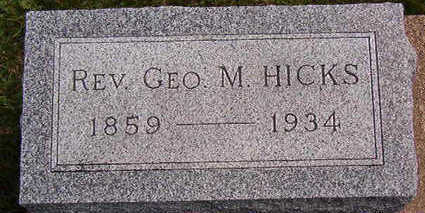 HICKS, GEO. - Black Hawk County, Iowa | GEO. HICKS