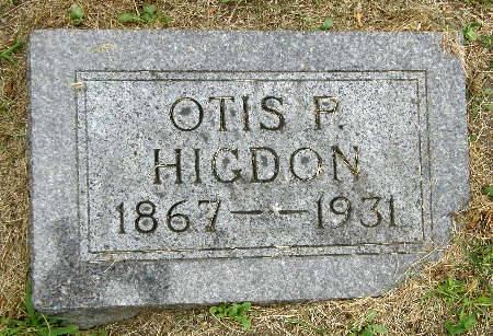 HIGDON, OTIS P. - Black Hawk County, Iowa | OTIS P. HIGDON
