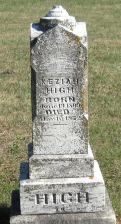 HIGH, KEZIAH - Black Hawk County, Iowa | KEZIAH HIGH