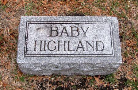 HIGHLAND, BABY - Black Hawk County, Iowa | BABY HIGHLAND