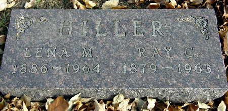 HILLER, LENA M. - Black Hawk County, Iowa | LENA M. HILLER
