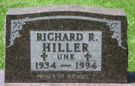 HILLER, RICHARD R. - Black Hawk County, Iowa | RICHARD R. HILLER