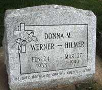 WERNER HILMER, DONNA M. - Black Hawk County, Iowa | DONNA M. WERNER HILMER