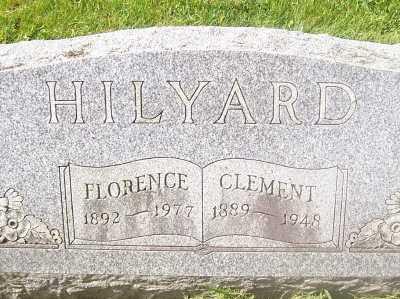 HILYARD, CLEMENT - Black Hawk County, Iowa | CLEMENT HILYARD