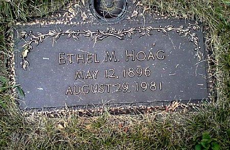 HOAG, ETHEL M. - Black Hawk County, Iowa | ETHEL M. HOAG
