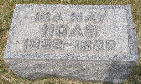 HOAG, IDA MAY - Black Hawk County, Iowa | IDA MAY HOAG