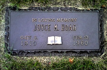 HOAG, JOYCE M. - Black Hawk County, Iowa | JOYCE M. HOAG