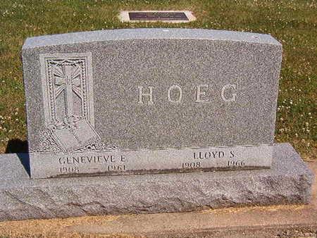 HOEG, GENEVIEVE E. - Black Hawk County, Iowa | GENEVIEVE E. HOEG