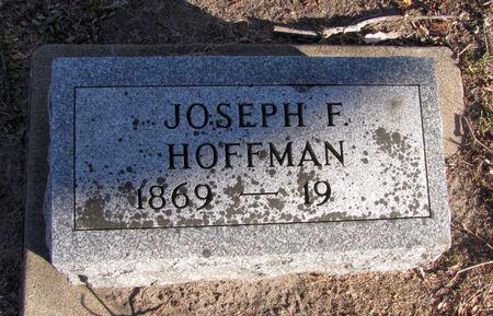 HOFFMAN, JOSEPH F. - Black Hawk County, Iowa   JOSEPH F. HOFFMAN