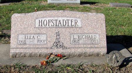 HOFSTADTER, L. RICHARD - Black Hawk County, Iowa | L. RICHARD HOFSTADTER