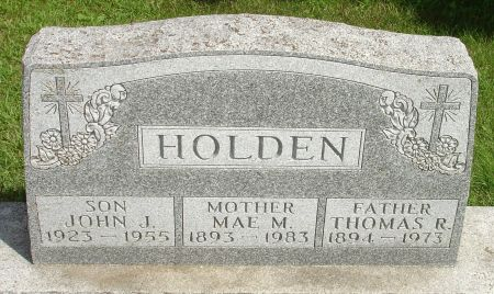 HOLDEN, MAE M. - Black Hawk County, Iowa | MAE M. HOLDEN