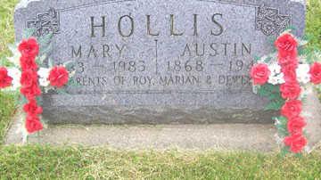 HOLLIS, MARY - Black Hawk County, Iowa   MARY HOLLIS