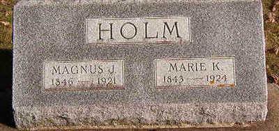 HOLM, MARIE K. - Black Hawk County, Iowa   MARIE K. HOLM