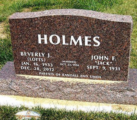 HOLMES, BEVERLY J. - Black Hawk County, Iowa   BEVERLY J. HOLMES
