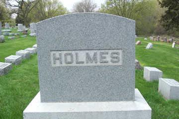 HOLMES, FAMILY - Black Hawk County, Iowa | FAMILY HOLMES
