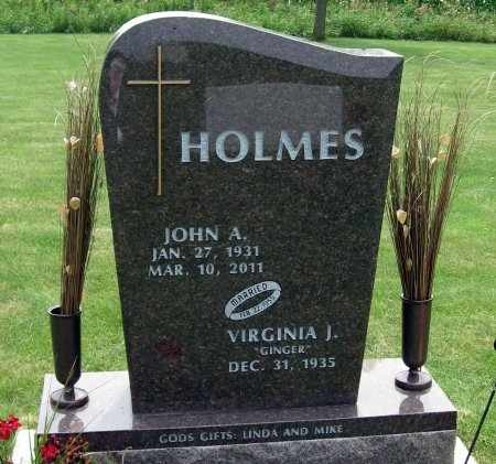 HOLMES, JOHN A. - Black Hawk County, Iowa | JOHN A. HOLMES