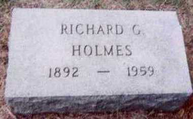 HOLMES, RICHARD G. - Black Hawk County, Iowa | RICHARD G. HOLMES