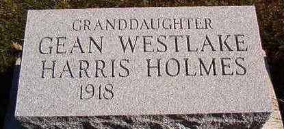 HARRIS HOLMS, GEAN - Black Hawk County, Iowa   GEAN HARRIS HOLMS