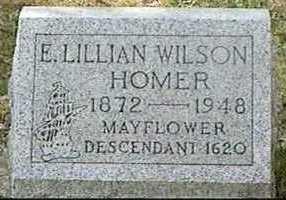 HOMER, E. LILLIAN - Black Hawk County, Iowa | E. LILLIAN HOMER