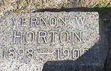 HORTON, VERNON W. - Black Hawk County, Iowa   VERNON W. HORTON