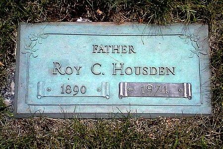 HOUSDEN, ROY C. - Black Hawk County, Iowa   ROY C. HOUSDEN