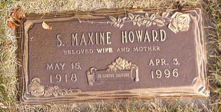 HOWARD, S. MAXINE - Black Hawk County, Iowa | S. MAXINE HOWARD