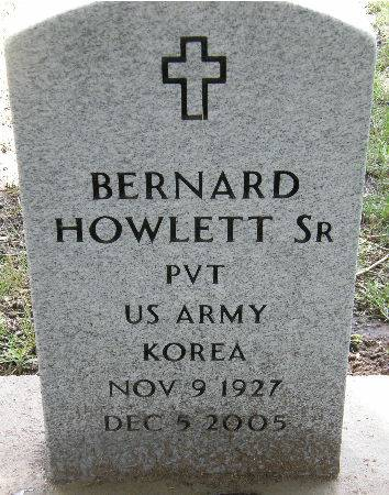 HOWLETT, BERNARD, SR. - Black Hawk County, Iowa   BERNARD, SR. HOWLETT
