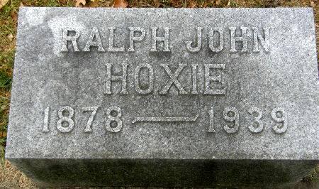 HOXIE, RALPH JOHN - Black Hawk County, Iowa | RALPH JOHN HOXIE