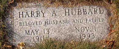 HUBBARD, HARRY A. - Black Hawk County, Iowa | HARRY A. HUBBARD