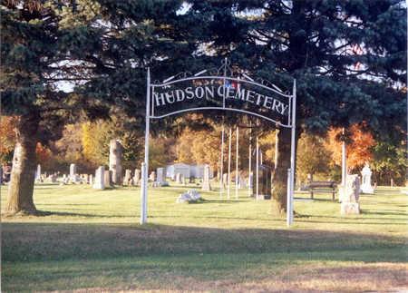 HUDSON, CEMETERY - Black Hawk County, Iowa | CEMETERY HUDSON