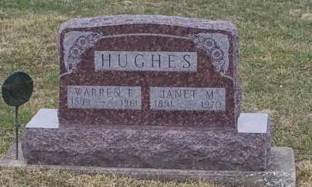 HUGHES, WARREN F - Black Hawk County, Iowa | WARREN F HUGHES