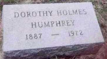 HOLMES HUMPHREY, DOROTHY - Black Hawk County, Iowa | DOROTHY HOLMES HUMPHREY