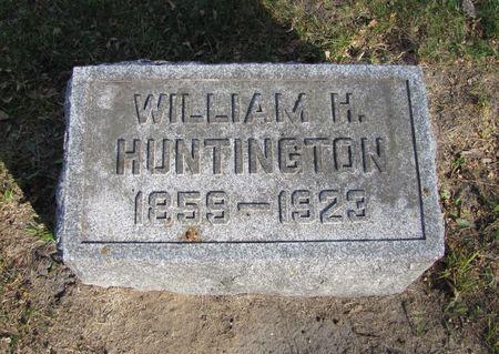 HUNTINGTON, WILLIAM H. - Black Hawk County, Iowa   WILLIAM H. HUNTINGTON