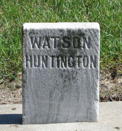 HUNTINGTON, WATSON - Black Hawk County, Iowa | WATSON HUNTINGTON