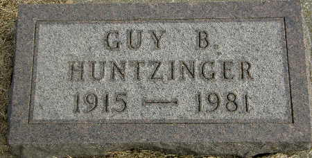 HUNTZINGER, GUY B. - Black Hawk County, Iowa | GUY B. HUNTZINGER