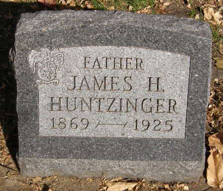 HUNTZINGER, JAMES H. - Black Hawk County, Iowa | JAMES H. HUNTZINGER