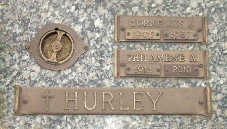 HURLEY, PHILAMENE A. - Black Hawk County, Iowa | PHILAMENE A. HURLEY