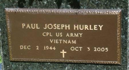 HURLEY, PAUL JOSEPH - Black Hawk County, Iowa | PAUL JOSEPH HURLEY