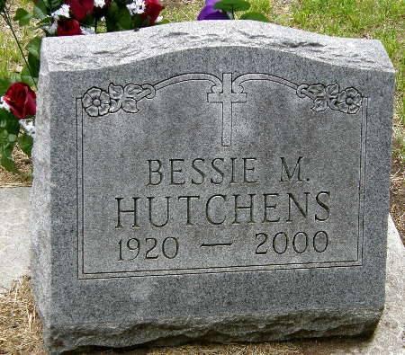 HUTCHENS, BESSIE M. - Black Hawk County, Iowa | BESSIE M. HUTCHENS