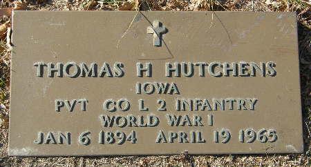 HUTCHENS, THOMAS H. - Black Hawk County, Iowa | THOMAS H. HUTCHENS