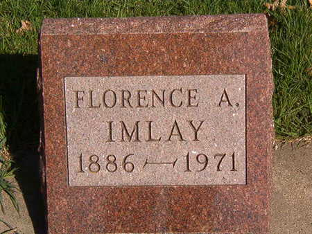 IMLAY, FLORENCE A. - Black Hawk County, Iowa | FLORENCE A. IMLAY