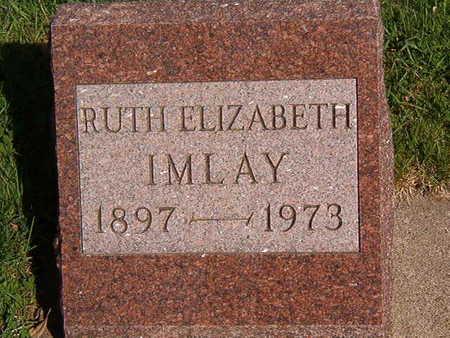 IMLAY, RUTH ELIZABETH - Black Hawk County, Iowa | RUTH ELIZABETH IMLAY