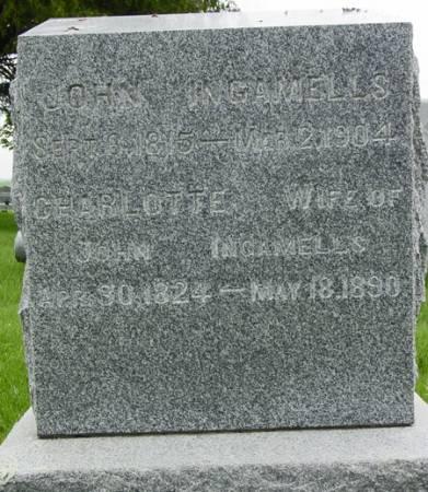 MACKADER INGAMELLS, CHARLOTTE WILHELMINA - Black Hawk County, Iowa   CHARLOTTE WILHELMINA MACKADER INGAMELLS
